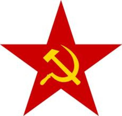Civil war ends in Russia with the communist party in control