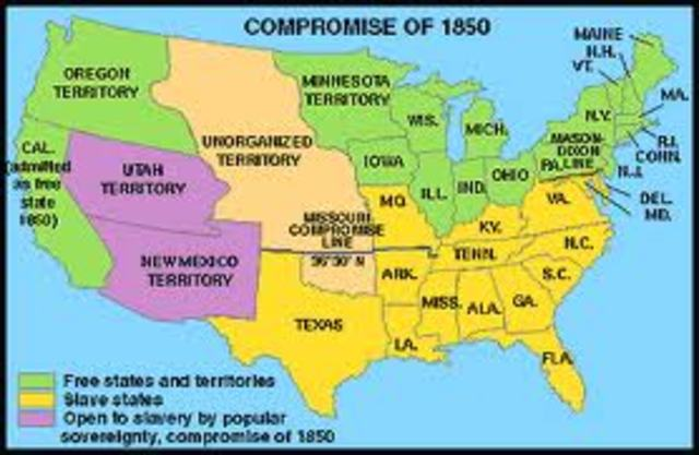 the basic of the compromise of 1850 declaring california as a free state in the us Though it had only been a part of the united states for california as a free-labor state under the compromise of 1850, beginning the state's long reign.