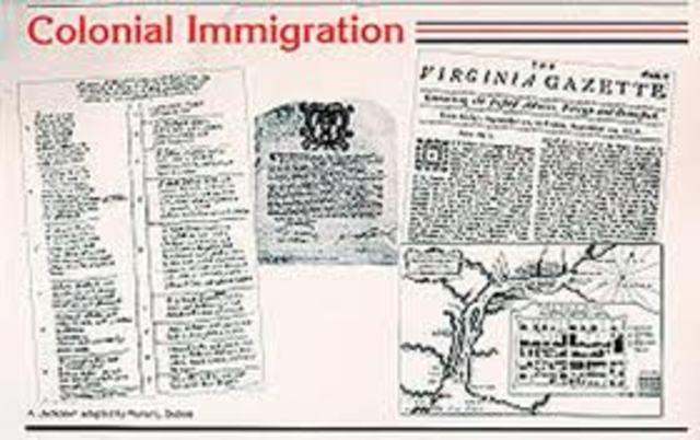 american immigration 1607 1830 essay Library of congress teachers ask a librarian ireland's 1845 potato blight is often credited with launching the second wave of irish immigration to america.