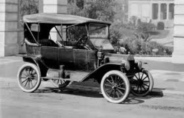 The first automobile was invented