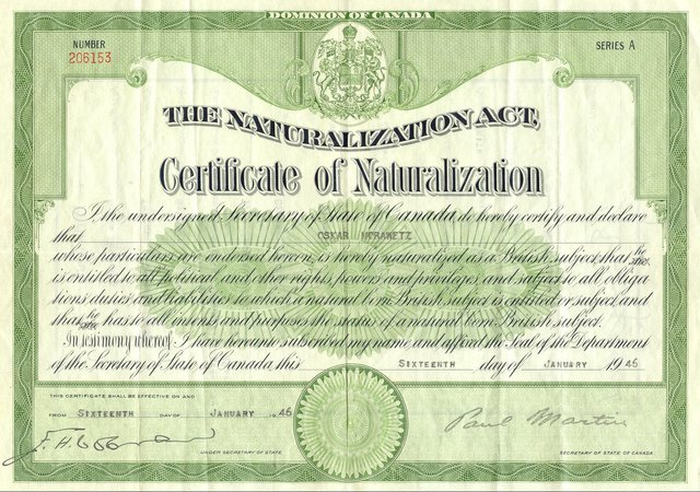 History Of Us Naturalization Law