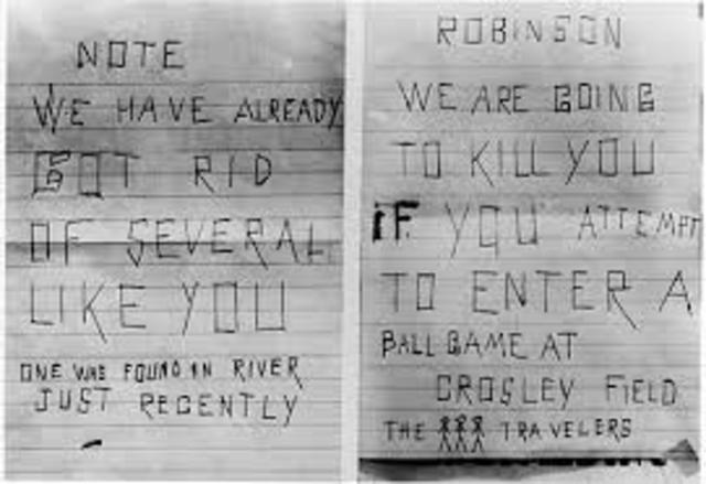 Jackie Robinson timeline   Timetoast timelines