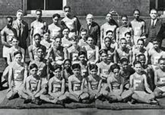 In January 1,1928 Jesse Owens set a record in Jr. High School.