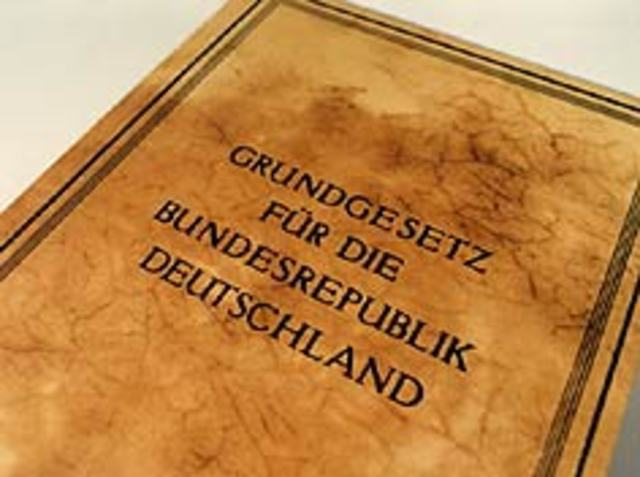 the 23rd article of wests 1949 constitution Germany's constitution, the basic law for the federal republic of germany was adopted on may 23, 1949 the constitution specifies.