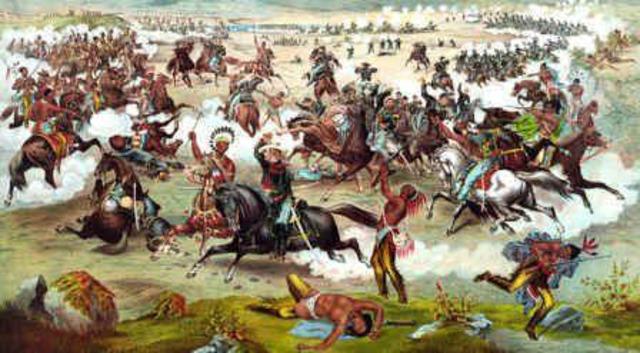 the battle of little bighorn Friends of the little bighorn battlefield -- the story of the burials of custer's dead after the battle of the little bighorn.