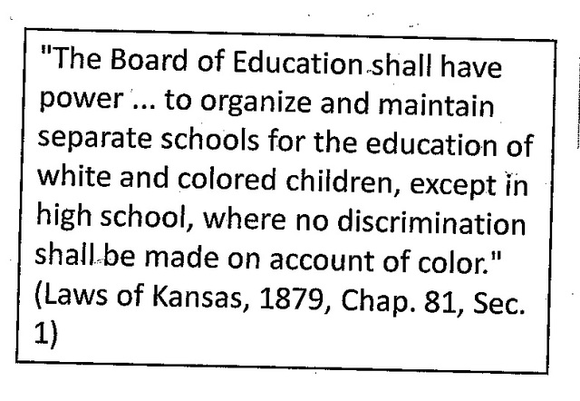 overview of brown vs board of education
