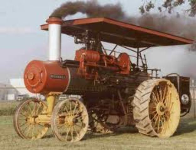 Antique Tractors In Ohio : Industrial revolution inventions timeline timetoast