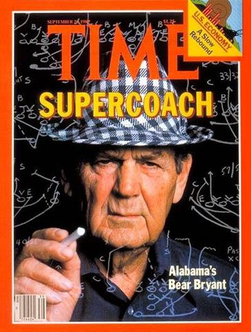 the early life and sports career of paul bryant aka bear bryant Paul bear bryant begins with bryant's death and then flashes back to his early life growing up as a poor farm boy in arkansas we are presented with stories that establish bryant's toughness.