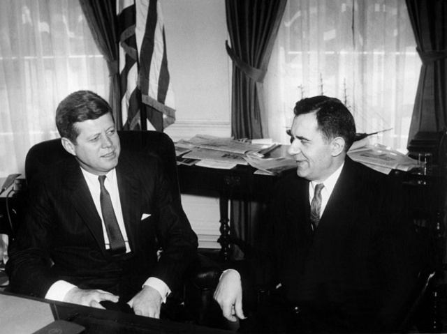 Kennedy Meets Andrei Gromyko