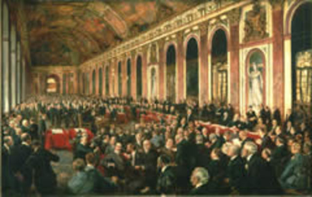 the events of the treaty of versailles The delegates of the victorious powers met in paris to discuss the terms of the peace, followed by the treaty's signing at the former french royal palace of versailles.