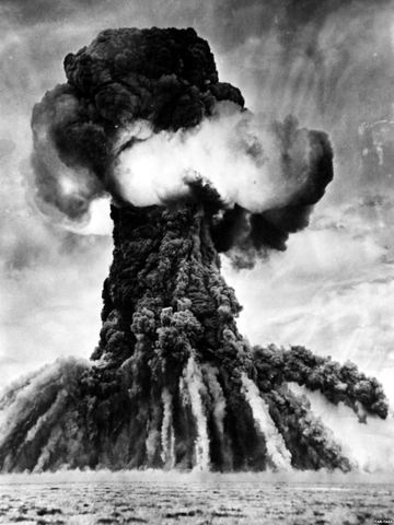 USSR detonates their first atomic bomb
