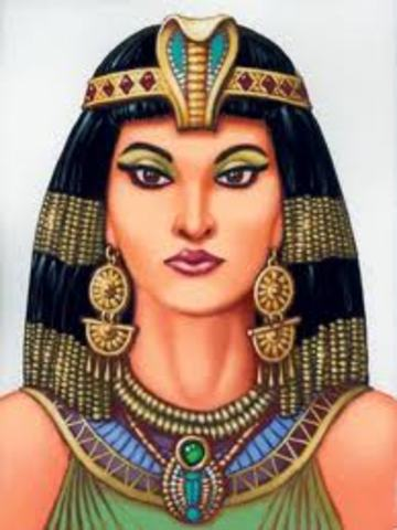 cleoptra s timeline Dining with queen cleopatra antony and cleopatra gathered together the era's most renowned gourmands, calling the group the circle of incomparables.