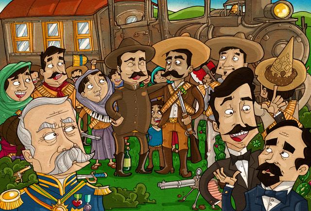Linea del tiempo de la revolución Mexicana (1910-1940