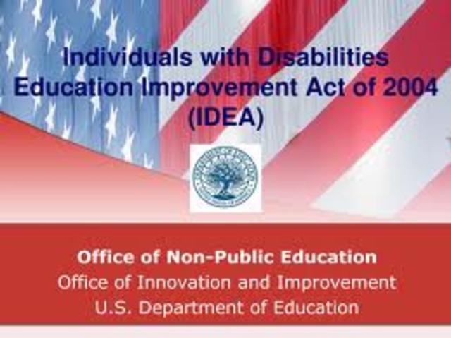 Individuals with Disabilities Education Improvement Act of 2004 (IDEA), Public Law 108-446