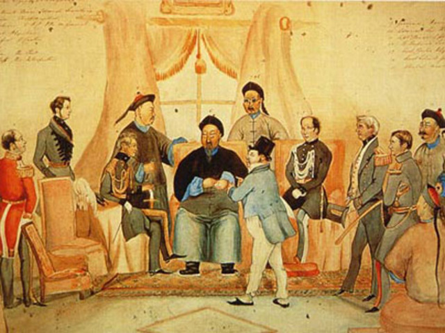 an analysis of the opium war in china in 18th century