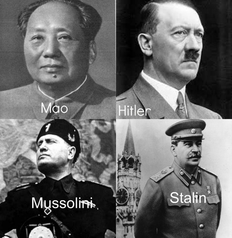 timeline of stalins hitlers and mussolinis