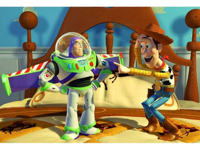 Toy Story becomes top-grossing movie of the year