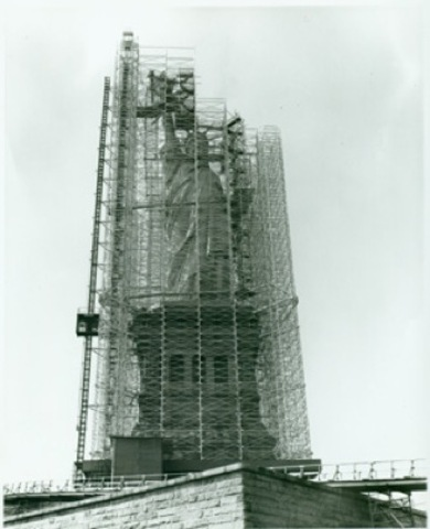 through 1984, Statue Restoration