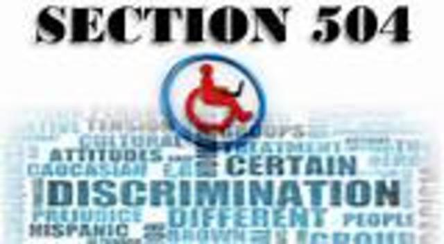 Section 504 of the Rehabilitation Act 1973