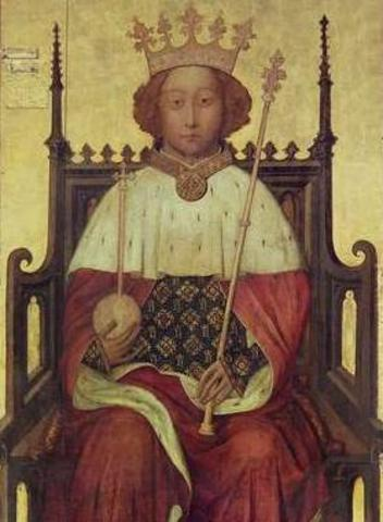 Richard II murdered