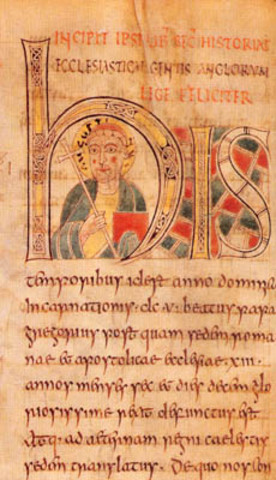 St. Augustine arrives in Kent; beginning of Anglo-Saxon conversion to Christianity