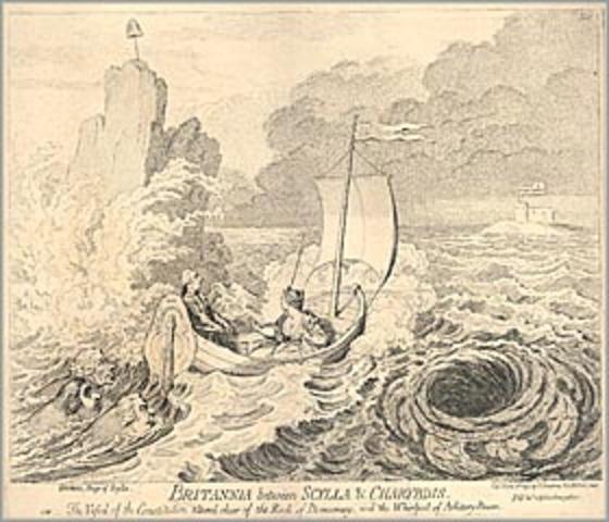 charybdis relationship to odysseus and calypso