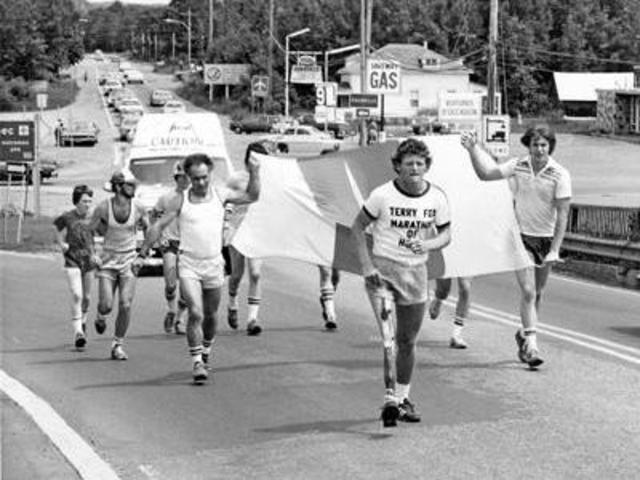 the early life and times of terry fox See who you know at the terry fox foundation, leverage your professional   special thanks goes to tara swartz, captain for teamsol for sharing her teams  story with us  during that time, they have raised $880,96070 for cancer  research.