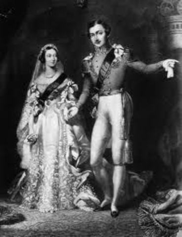 Queen Victoria Marries