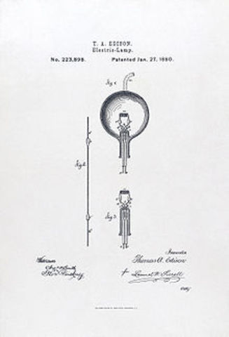 Light Bulb- Thomas Edison