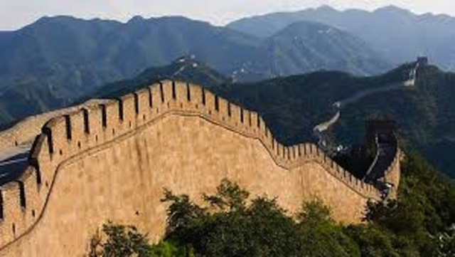 Great Wall of China finishes building