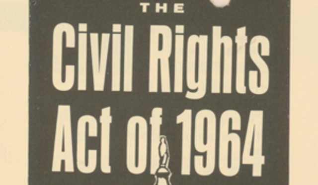 Civil Rights Act passed; the end of segregation