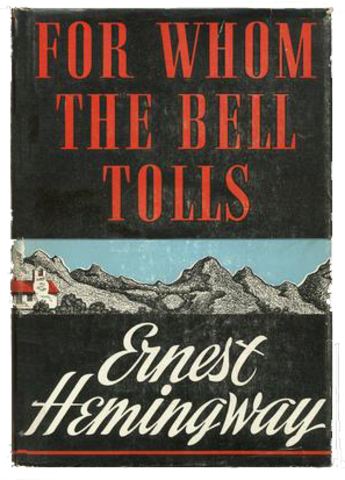 for whom the bell tolls summ essay For whom the bell tolls is a novel loosely based on ernest hemingway's own experiences in the spanish civil war in the 1930's before i delve into the book itself, i.