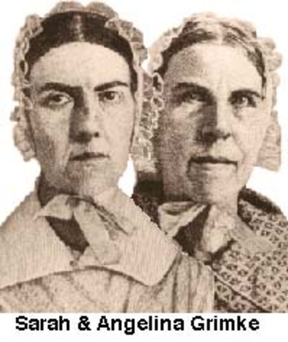 sarah and angelina grimke influential abolitionists Biography of sarah and angelina grimké for sarah and angelina grimké - sisters against slavery to the radical abolitionists sarah and angelina.