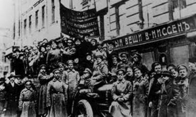 the events leading to the russian revolution As the events of 1917 unfolded, many working-class people would have been able to understand the parallels with the french revolution a century later, our ignorance may be our downfall.