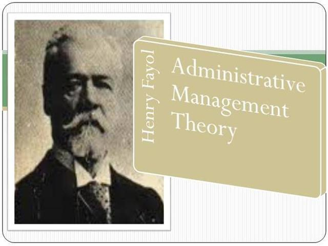 the foundations of henri fayol s administrative Theories on organization and developmental planning can have a major henri fayol's administrative the foundation s of henri fayol' s.