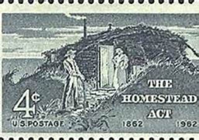 id the homestead act The homestead act was first proposed in the 1850s, but southern congressmen feared that the settlement of the west by small farmers would create an agricultural alternative to the southern slave .