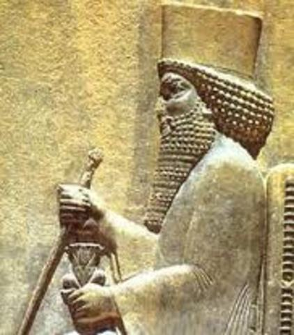 a history of darius 1 the great reign