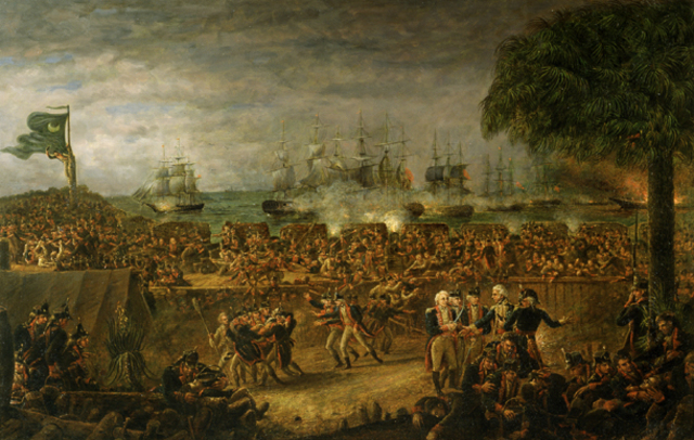 The Battle of Charleston