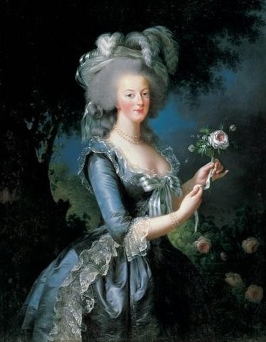 Marie Antoinette captured