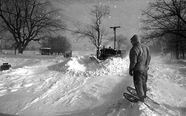 The post Christmas storm of 1969