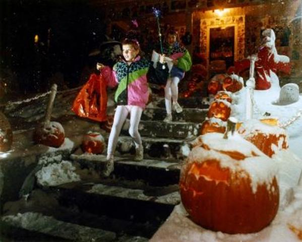 Halloween Blizzard of 1991