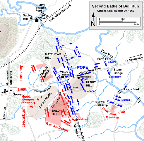 account of the second battle of bull run Media in category second battle of bull run two photographers having lunch in the bull run area before the second battle, 1862 create account log in.