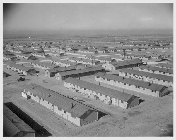 First inmates arrive at Granada, or Amache, Colorado.
