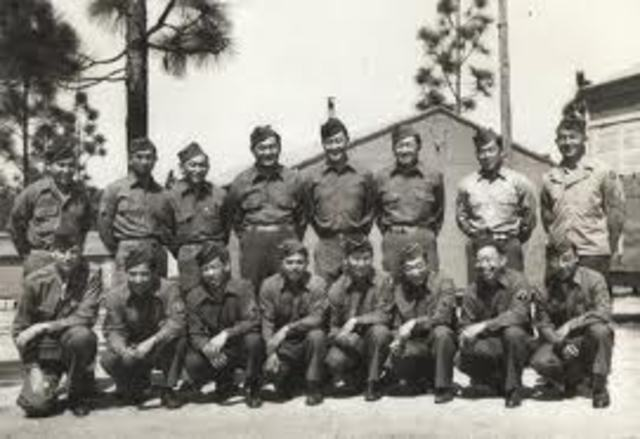 442nd Regimental Combat Team activated and it is completely made up of Japanese Americans.