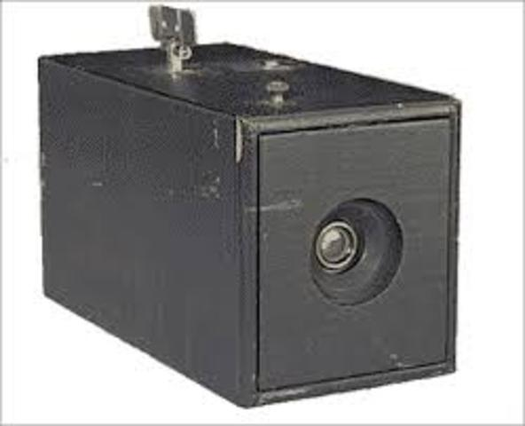 The First Kodak Camera