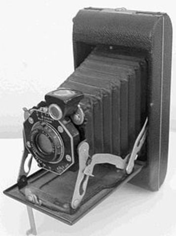 Folding Pocket Kodak Camera