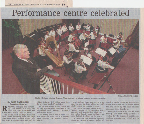 Performing Arts Centre Opened