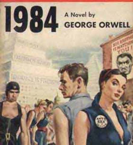 george orwells metaphor for a totalitarian society A book review of george orwell's 1984 living in a society with limited freedom of expression is not, in any case, enjoyable a totalitarian.