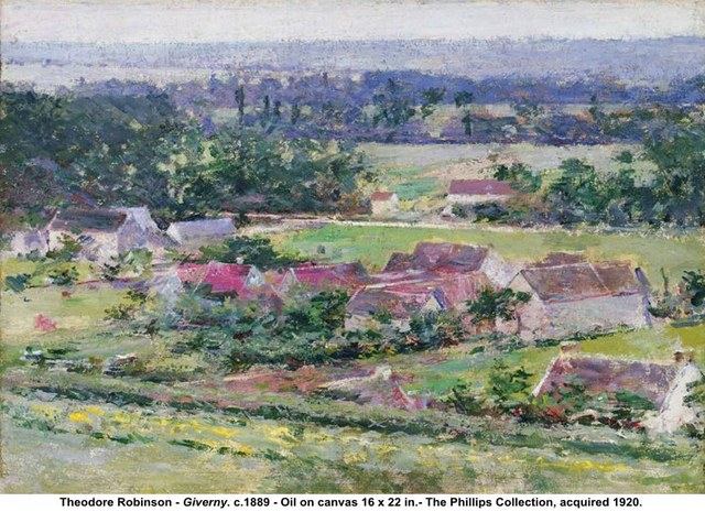 "Theodore Robinson's ""Giverny"""