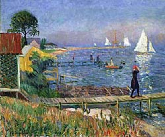 "William Glackens' ""Bathers at Bellport"""
